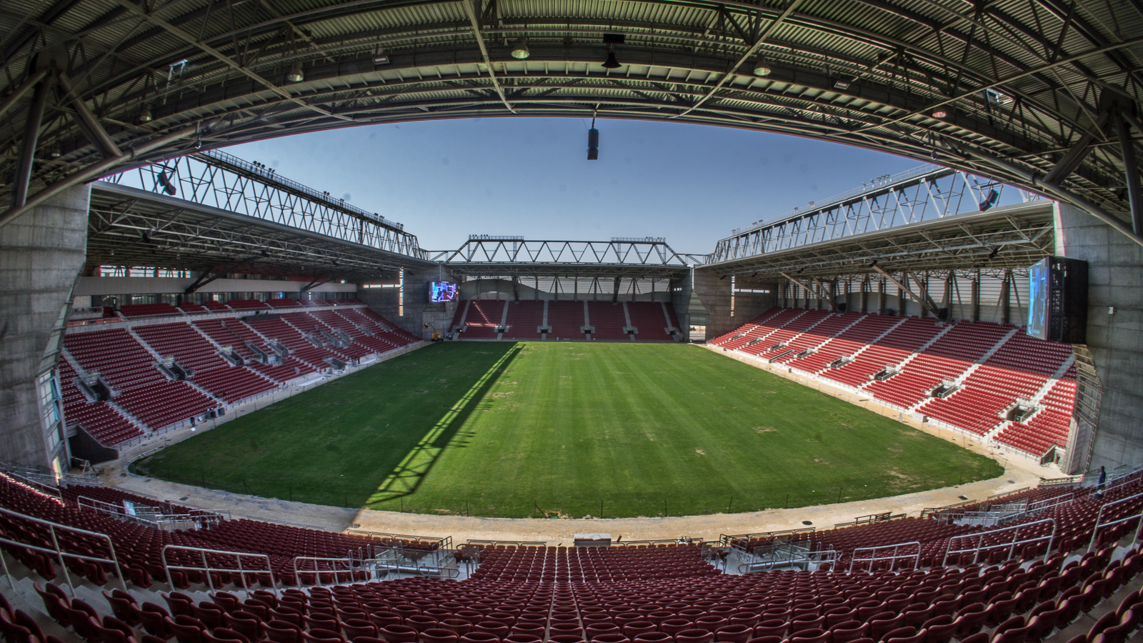 Be Er Sheva Turner Stadium In Israel Equipped With Tw
