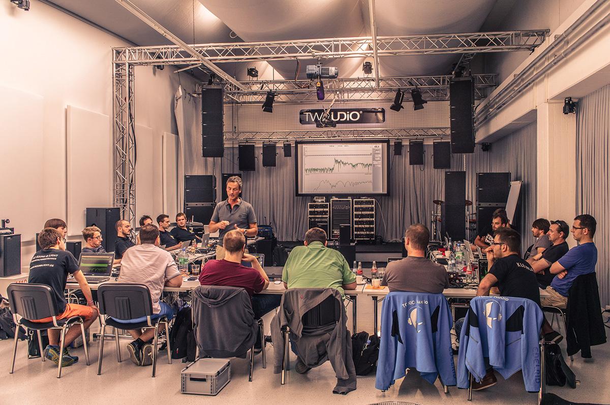Smaart v.8 Seminar Ludwigsburg