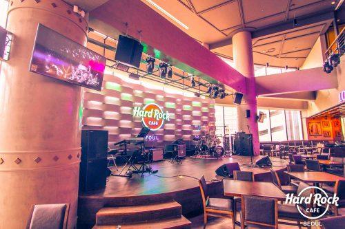 Hard Rock Café Seoul und Busan <b>mit TW AUDiO</b>