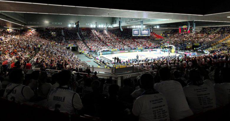 BasketballWorldcupmitVERAinBilbao/Spanien