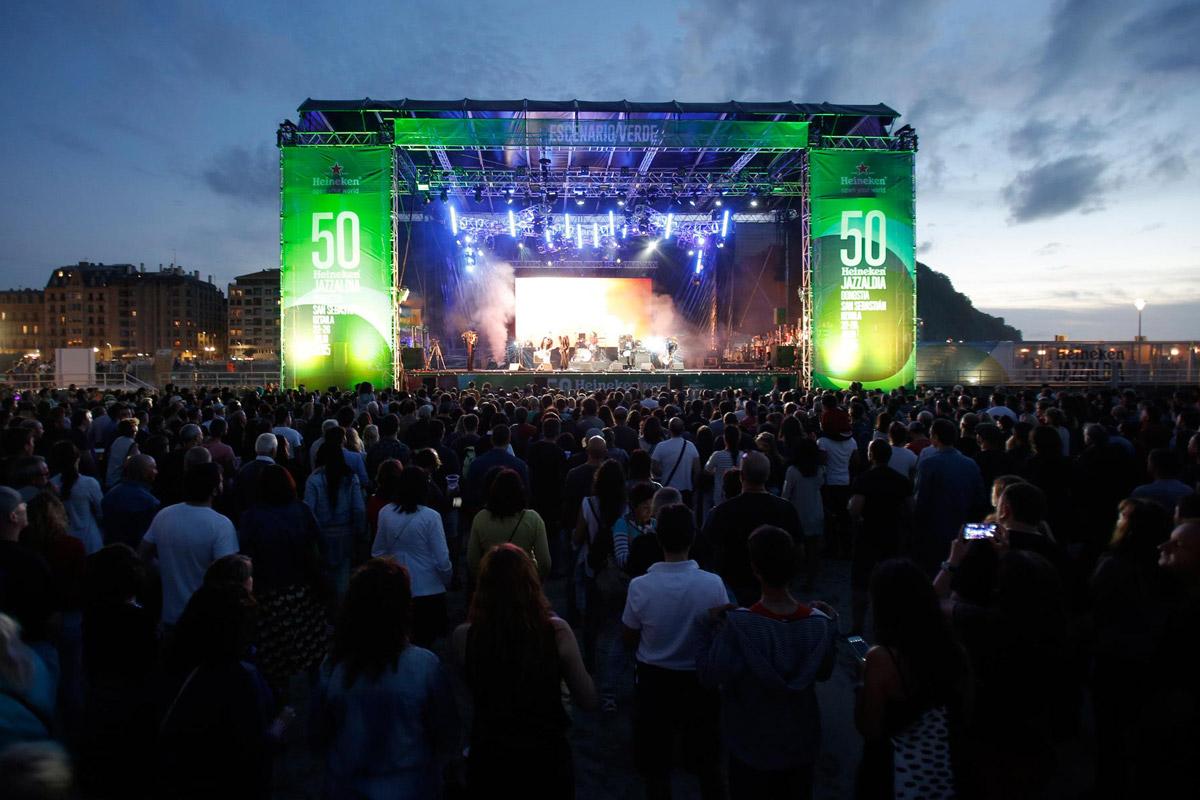 Jazzaldia Festival in San Sebastian / Spanien