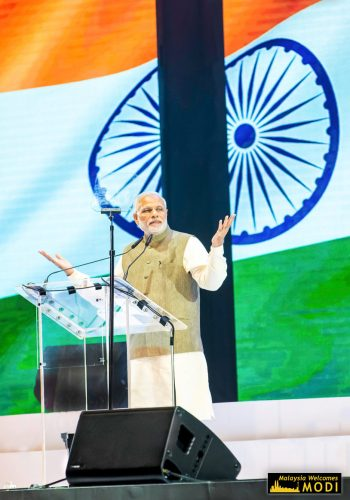 Indiens Präsident Modi <b>in Malaysia</b>
