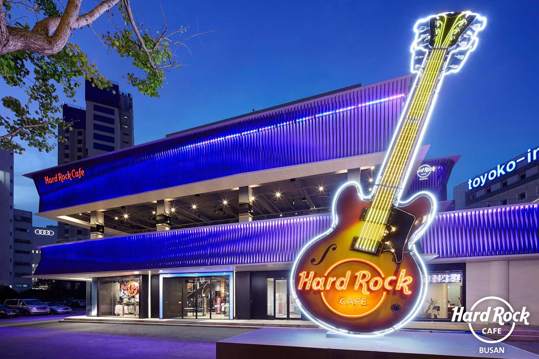 Hard Rock Café Seoul und Busan mit TW AUDiO