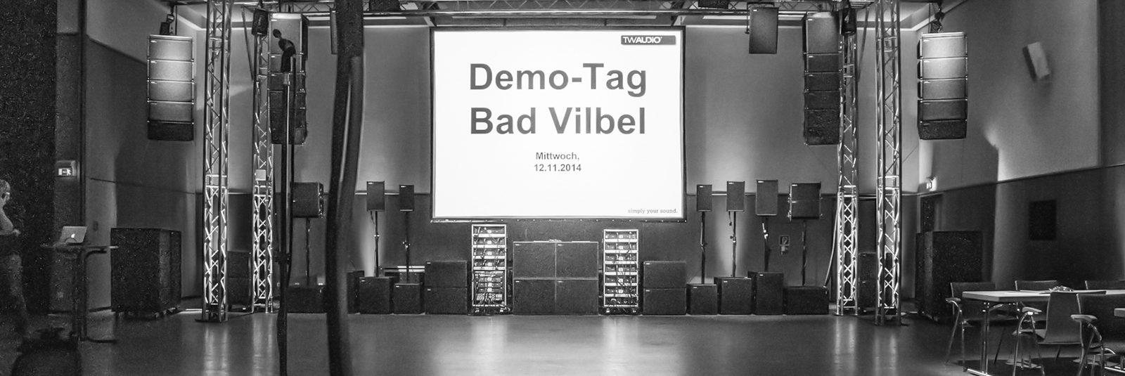 TW AUDiO Demo Day <b>in Bad Vilbel</b>