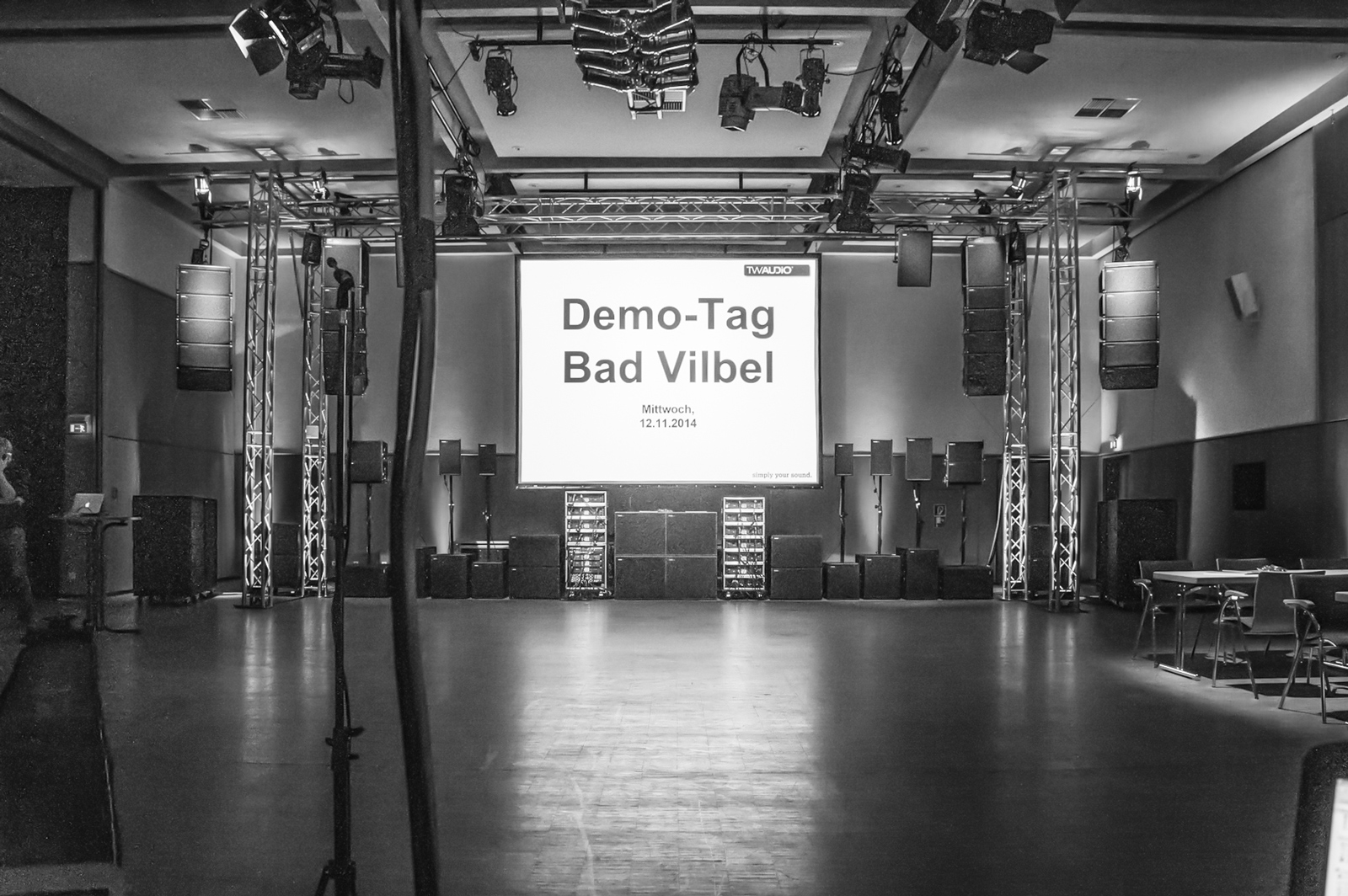 TW AUDiO Demo Day in Bad Vilbel