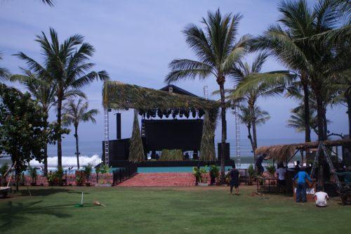 Fatboy Slim mit TW AUDiO <b>auf Bali</b>