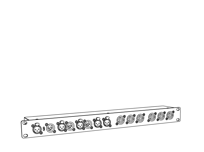 SYSRACK-K mit Powersoft K3 und APL4-K