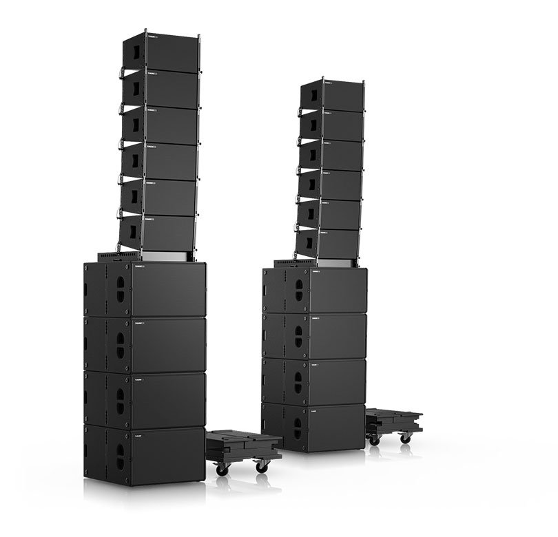 VERA-SYS-ONE The entry into the line-array era.
