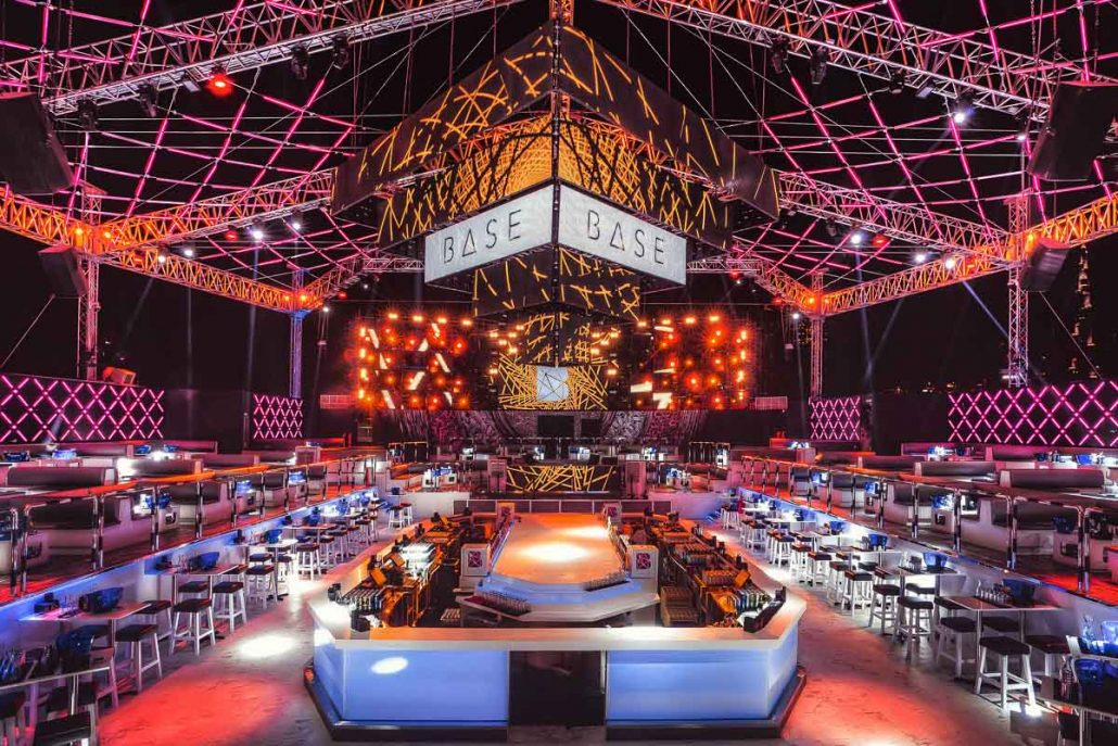 Clubbing Under The Stars At Base Dubai